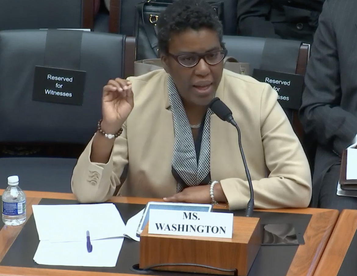 Anne L. Washington Testifies Before the Financial Services Committee on AI Threats and Opportunities